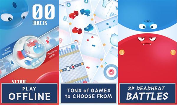 红蓝大作战2双人版:一个屏幕玩的手机双人同屏游戏