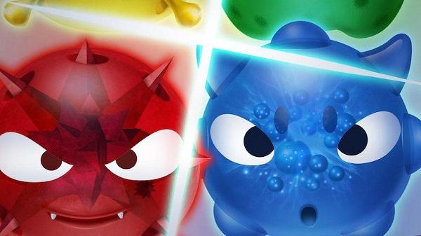 有没有双人同屏的手游?红蓝大作战2下载破解版分享